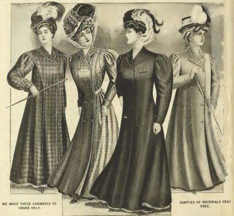 edwardian era clothing edwardian era ladies 39 outerwear. Black Bedroom Furniture Sets. Home Design Ideas