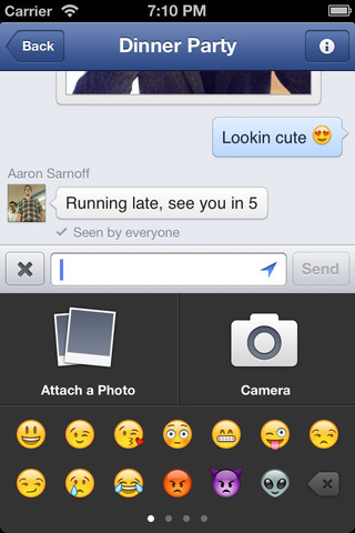 screenshot 5 Facebook Messenger v2.1