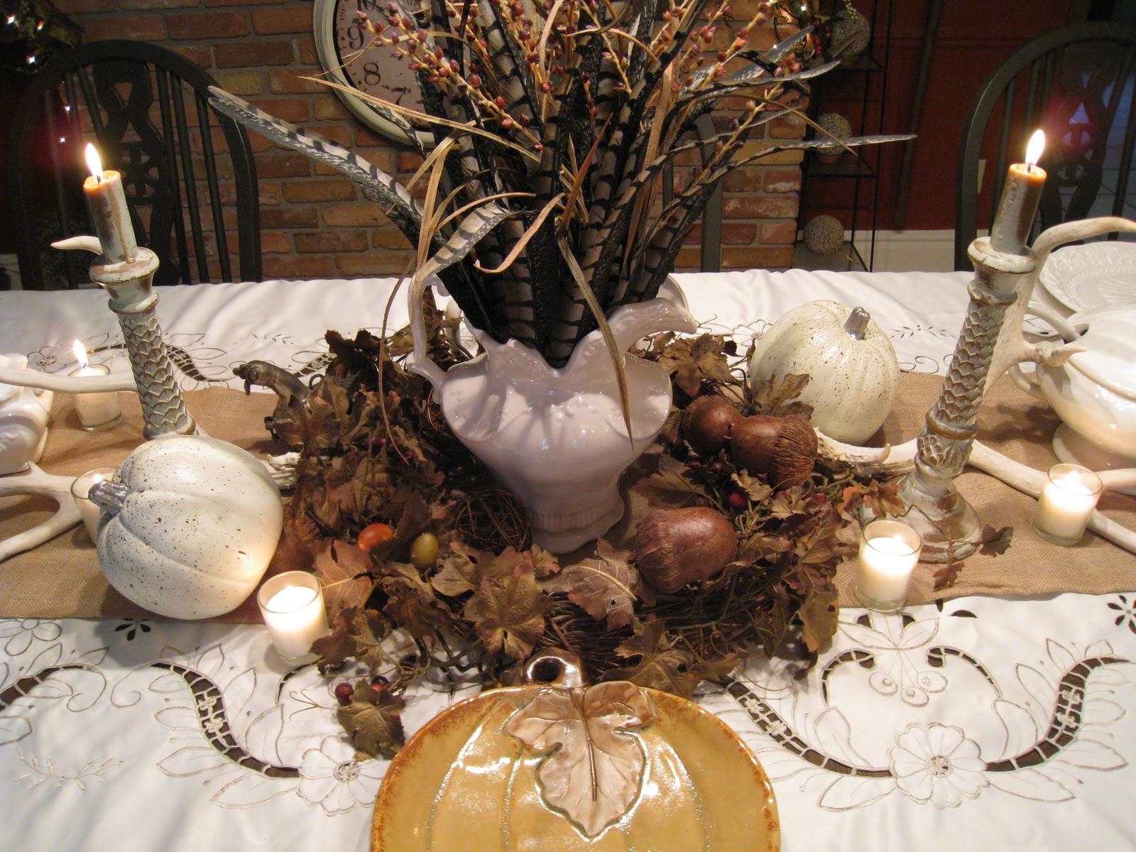 Easypeasy Grandma Thanksgiving Table