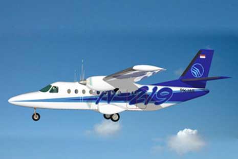 Wujudkan Visi Habibie Lion Air Beli N219 Buatan Pindad