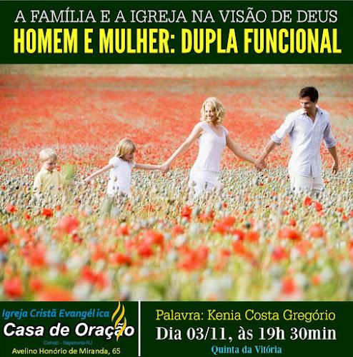 QUINTA DA VITÓRIA - HOMEM E MULHER: DUPLA FUNCIONAL