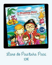 Livro Piratinha Piriri