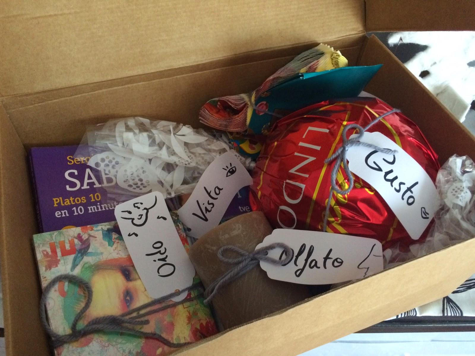 El blog de lorenna ideas para regalar caja de los 5 sentidos - Regalos para la vista ...