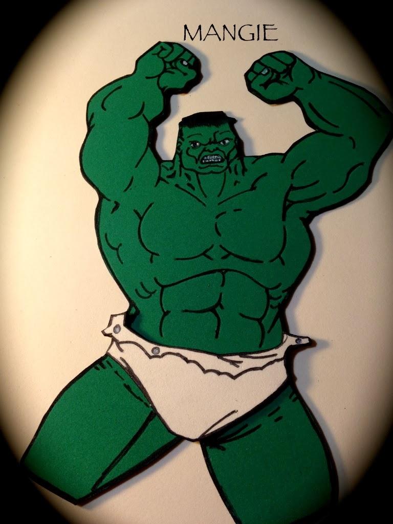 Detalle de Hulk