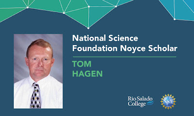 image shows photo of Noyce Scholar recipient Tom Hagen.