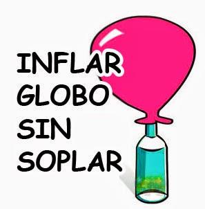 Inflar globo sin soplar utilizando unicamente la mano