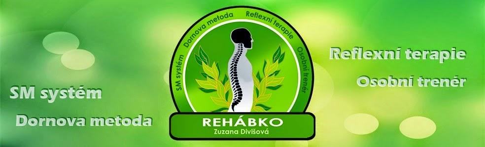 Rehábko - Zuzana Divišová - SM systém, Dornova metoda, Reflexní terapie, Osobní trenér