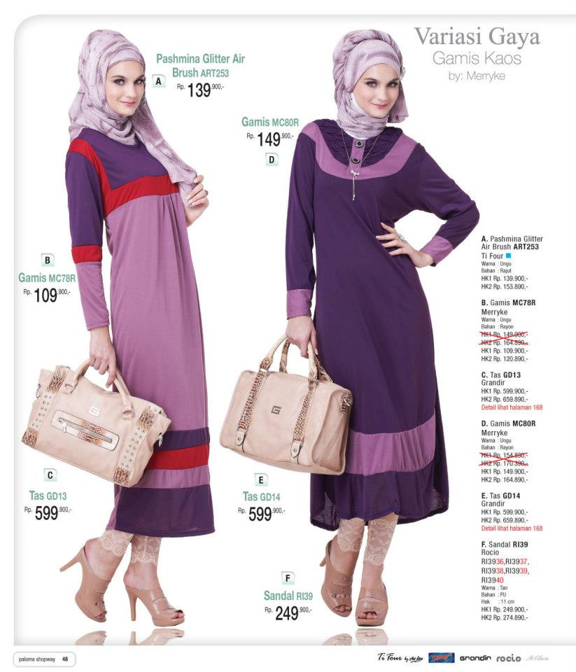 Description : Model Busana Muslim Wanita Terbaru april 2013