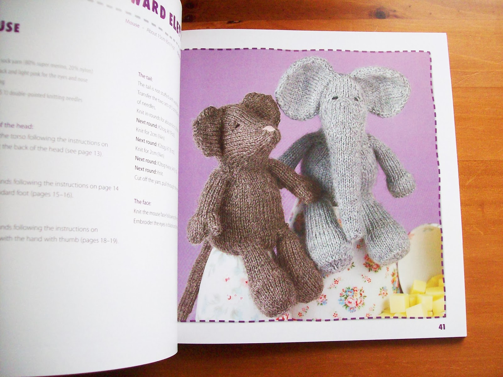 Knitting Animals Book : Sewing is for girls book review cuddly knitted animals