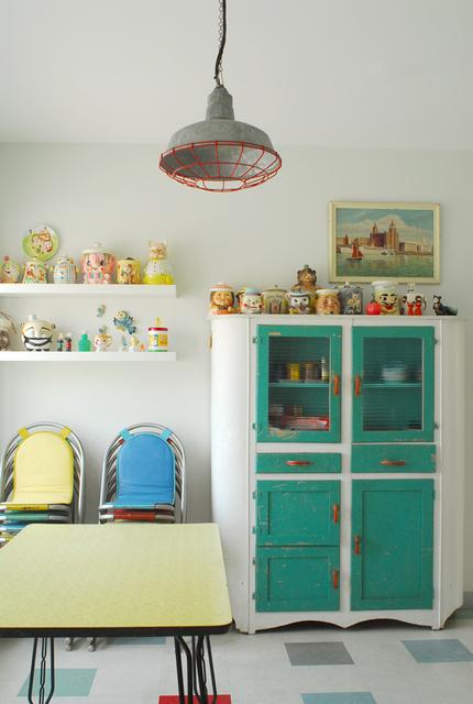 Muebles de cocina vintage trendy mesa barra desayunador for Muebles cocina vintage