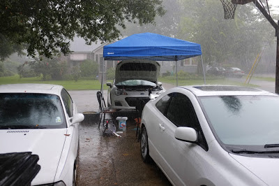 Subaru BRZ Rain