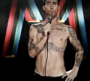 Maroon 5 feat christina aguilera moves like jagger for Maroon 5 tattoos hindu