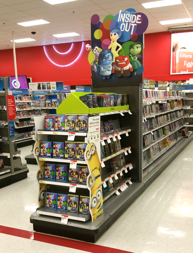Inside Out Movie at Target