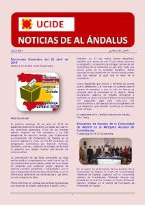 Noticias de Al Ándalus de abril 2019