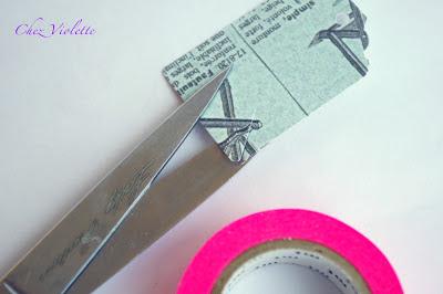 DIY skein /Tutoriel écheveaux - chez violette