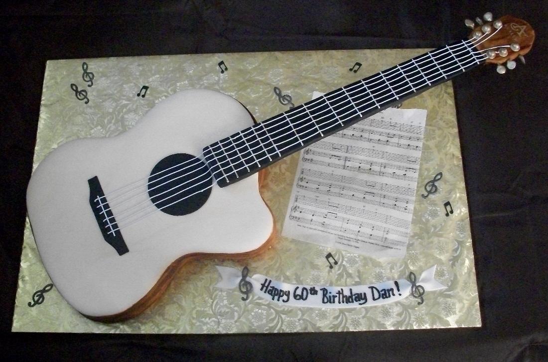Brenda s Cakes: Guitar Cake