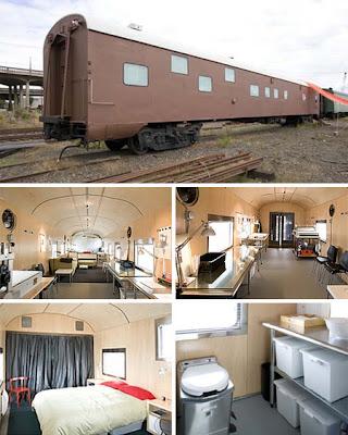 Rumah gerabak kereta api