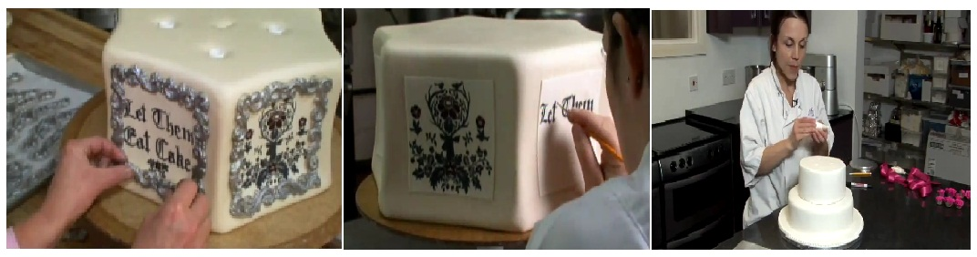 Sebagian orang menganggap bahwa dekorasi kue dengan butter cream sulit ...