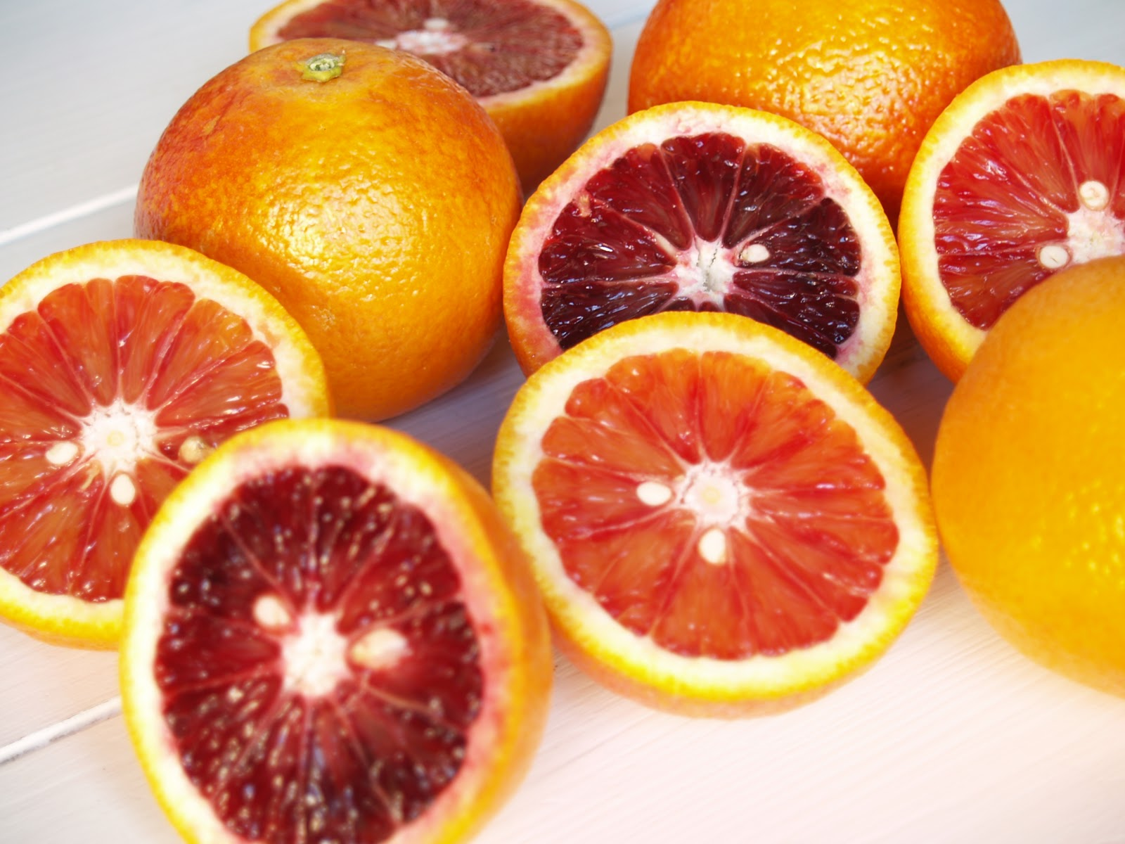 Persimmon and Peach: Ice Cream #12: Blood Orange Sherbet