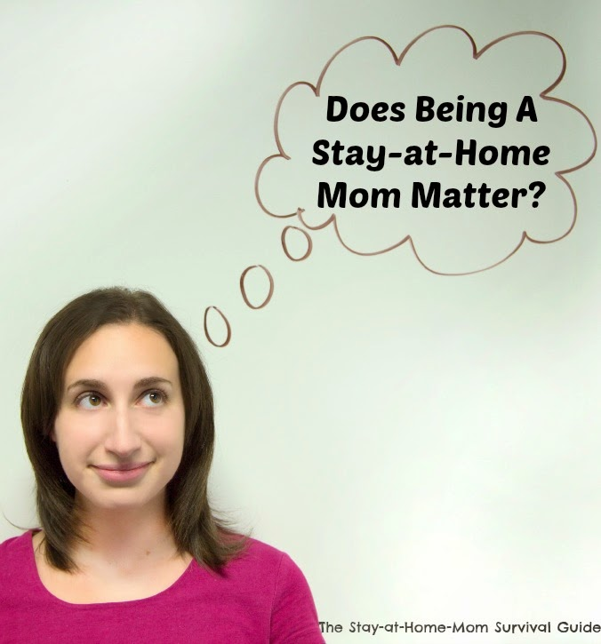 how to deal with being a stay at home mom