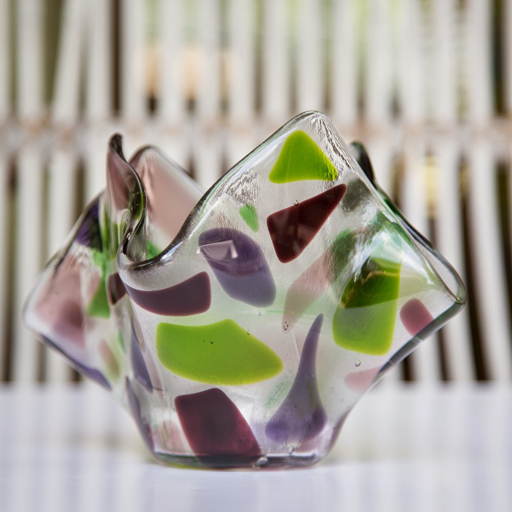 Sassy Glass Studio, fused glass art, Knoxville, Tennessee, Lisa Mueller, Lisa Gifford Mueller, one-of-a-kind fused glass art