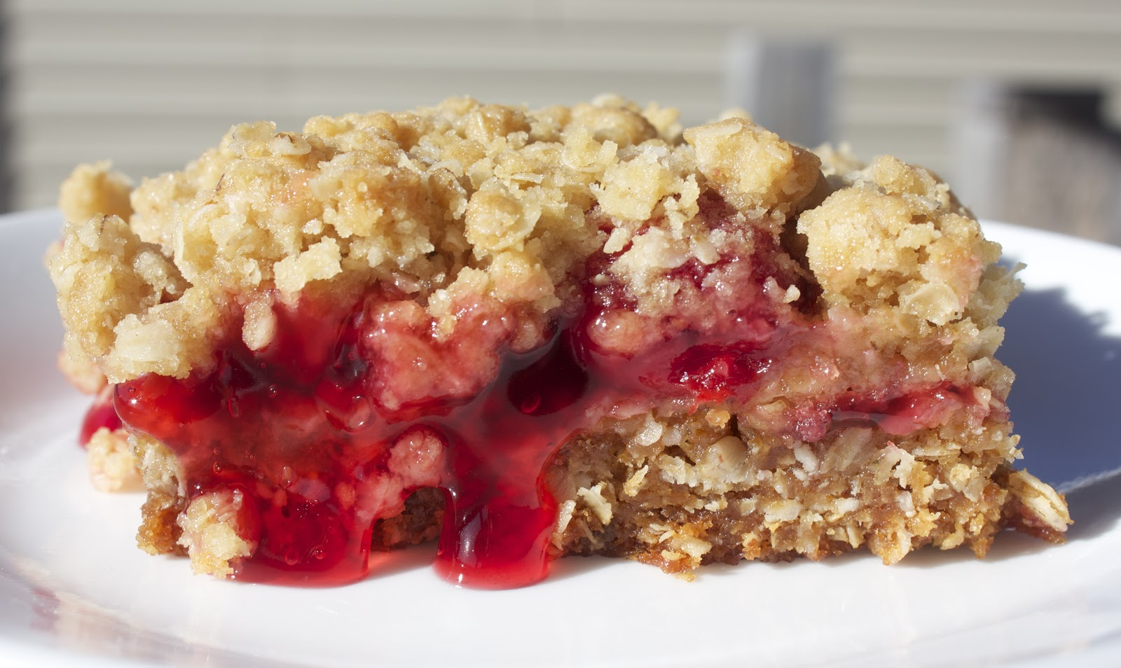 Cooking with Jax: Cherry Crumble Bars