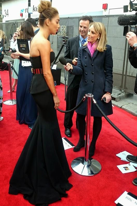 Nicole Scherzinger Olivier Awards