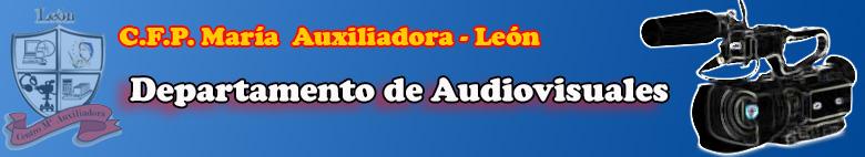 Departamento de Audiovisuales del Centro Mª Auxiliadora de León