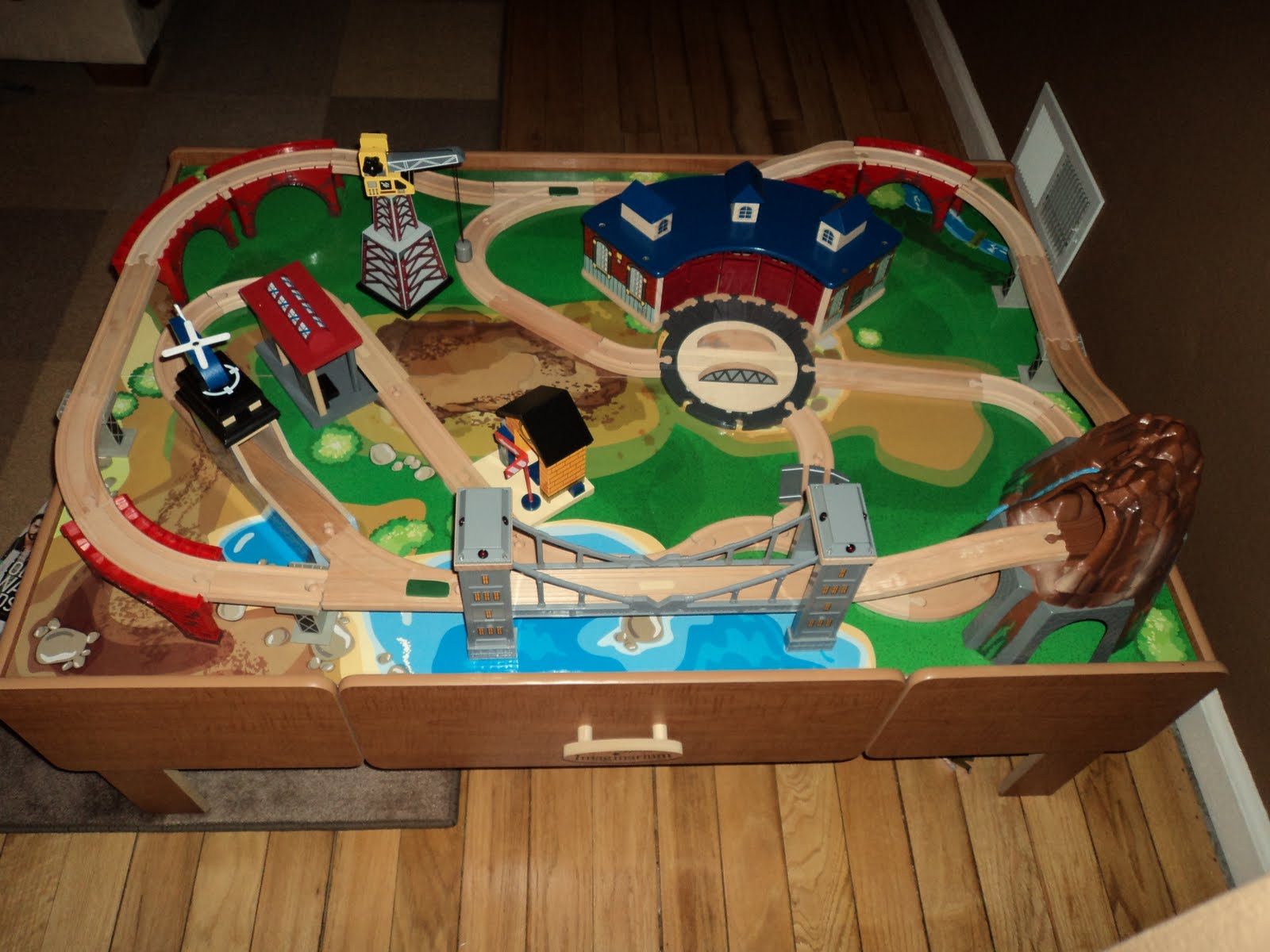 Train table set up ideas