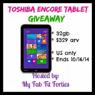 Toshiba Encore Tablet Giveaway