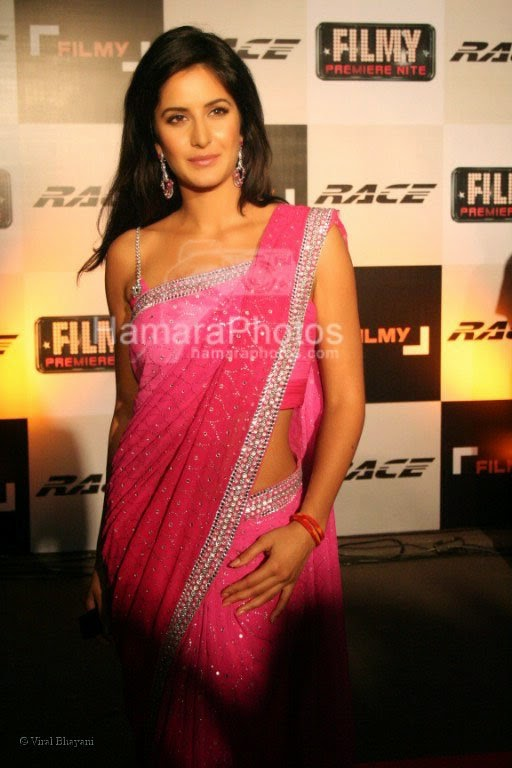 Bollywood actress Katrina Kaif at Race's premiere night at Imax, Wadala