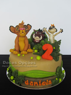 disney Lion King cake