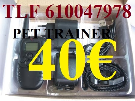 PET TRAINER Nº6  IMPORT RECARG SIMPLE  40€