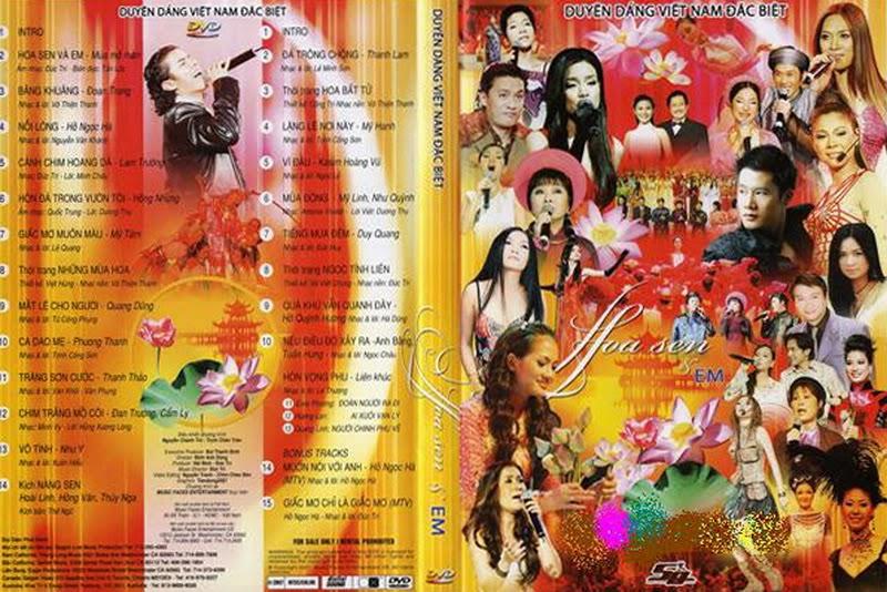 Duyên Dáng Việt Nam Đặc Biệt - Hoa Sen Và Em [ DVD. ISO]
