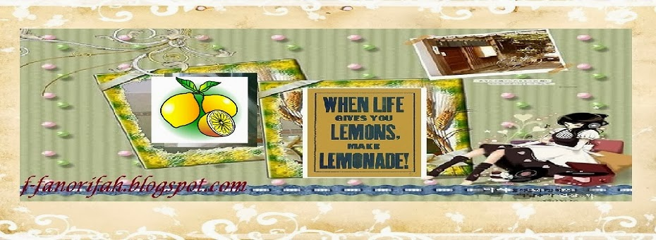 When Life Gives You Lemon, make Lemonade!!!