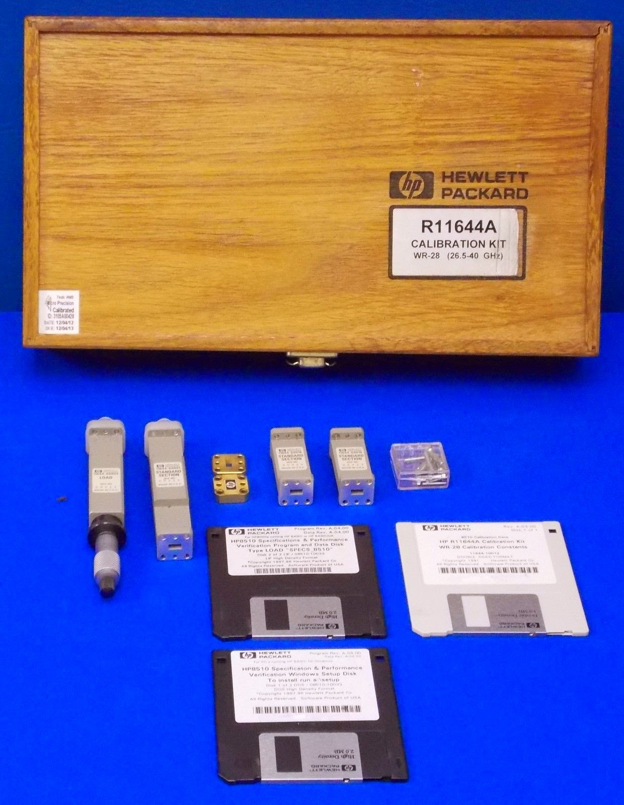 R11644A Agilent Calibration Kit photo here