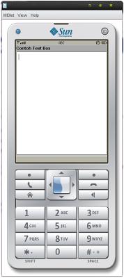 Cara membuat TextBox (J2ME)