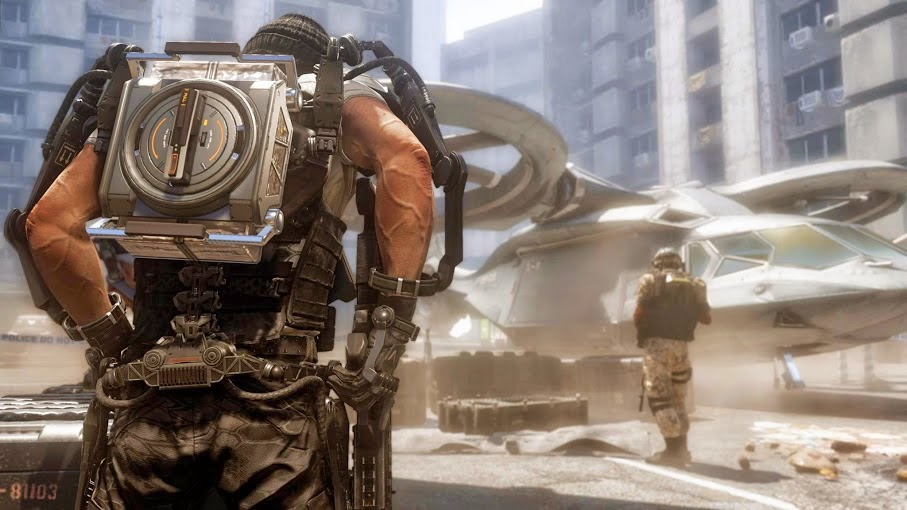 Primeras imágenes de Call of Duty Advanced Warfare de Activision