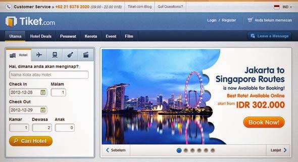 tiket Best Travel Startup in Indonesia