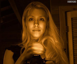 Jodi Arias alleged 'witchcraft' photo from MySpace
