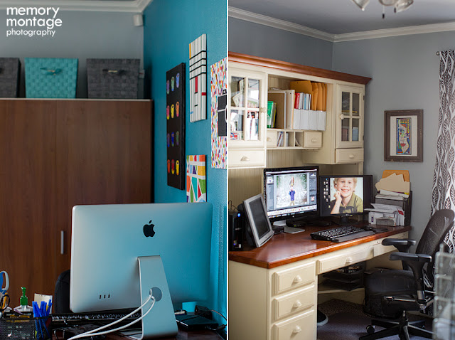 photographer office desk