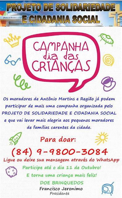 Projeto De Solidariedade e Cidadania Social