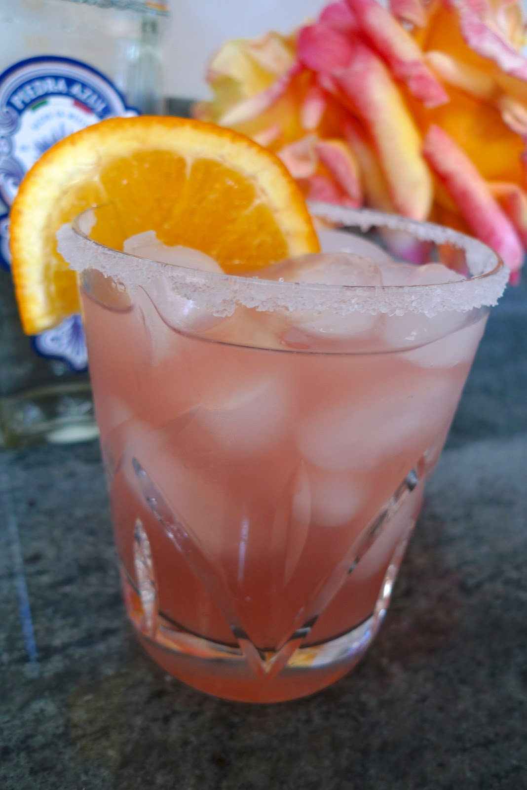 siriously delicious: Piedra Azul Tequila + Blood Orange ...
