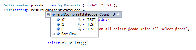 How to use ExecuteStoreQuery with parameters on the Entity Framework 6