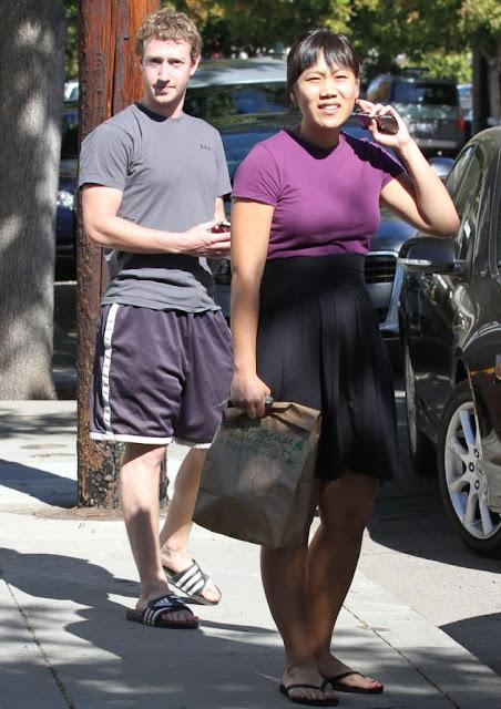 Facebook Founder Mark Zuckerberg And His Girlfriend 05