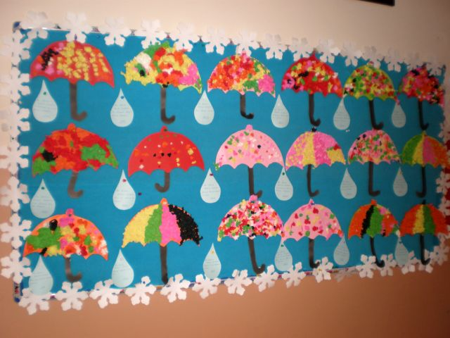 Chuva Para O Maternal_28 on Paper Plate Umbrella Craft