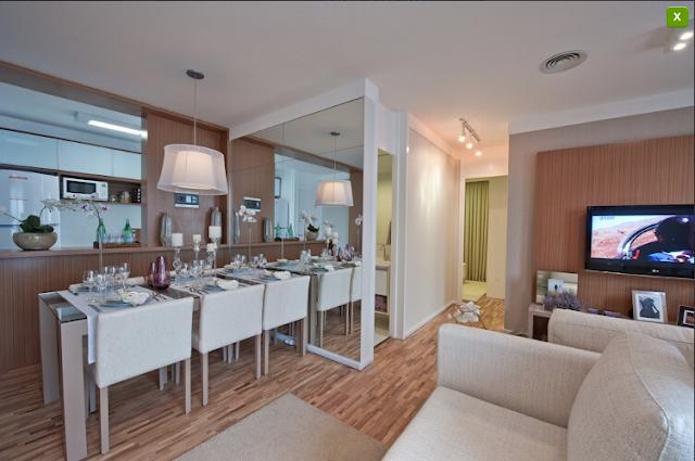 apartamento decorado 2 Apartamentos Decorados :: Inspirações