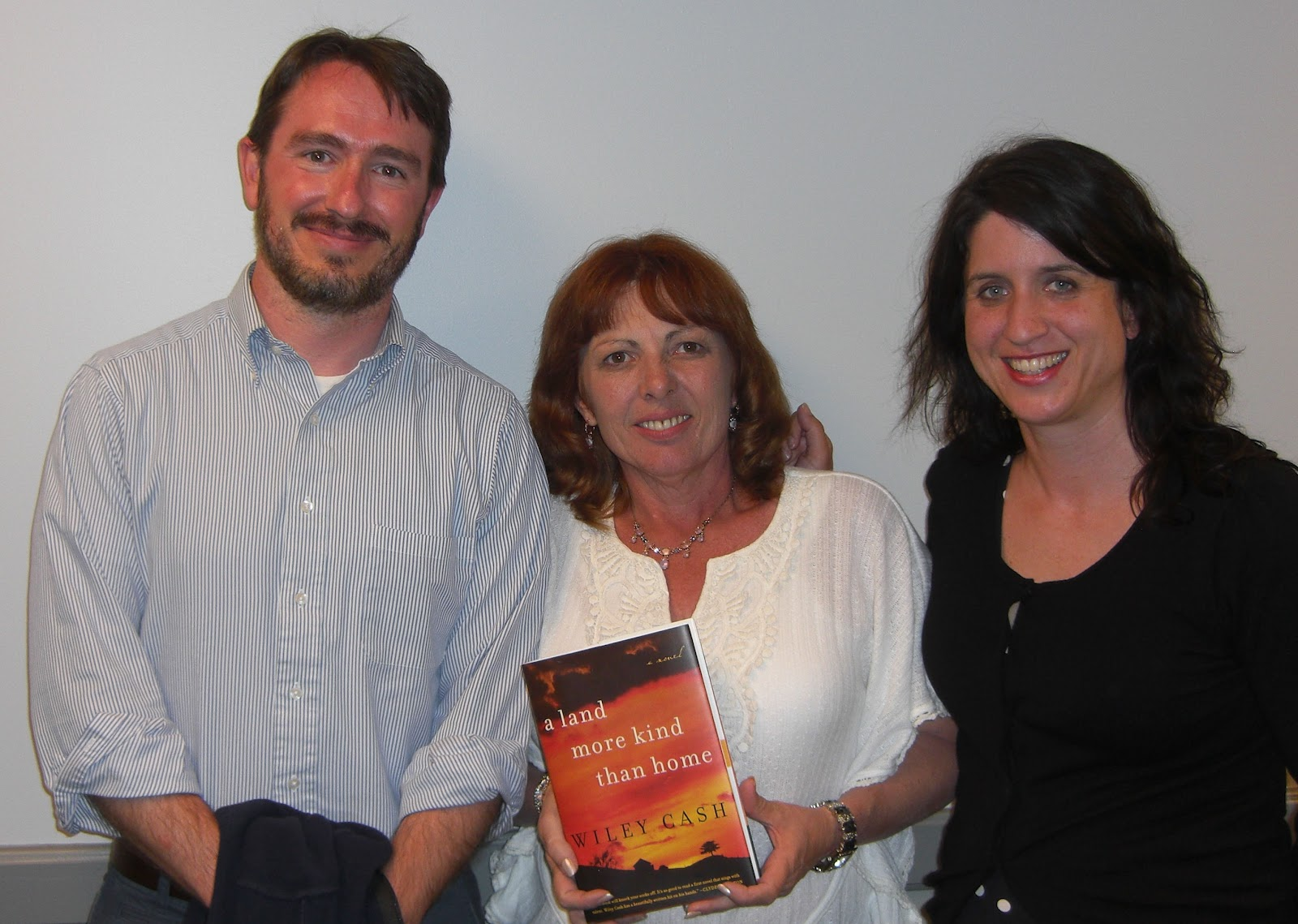Wiley Cash, Kelly Stone Gamble, And Suzi Shumaker  June 16, 2012