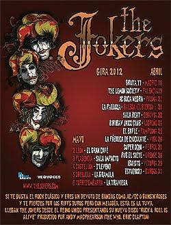 Gira por España de The Joker en abril y mayo