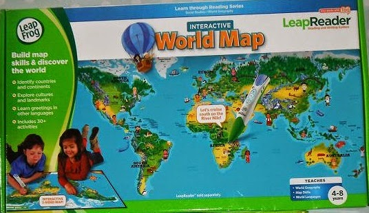 Madhouse family reviews leapfrog leapreader book club book of the the interactive world map is fantastic for slightly older children weve visited a few different countries as a family already morocco tunisia and turkey gumiabroncs Gallery